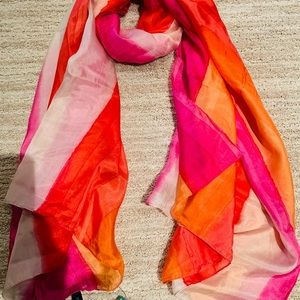 ❤️ 100% SILK TIE DYE SCARF...BRAND NEW WITH TAGS‼️